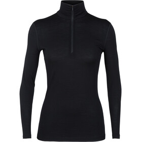 Icebreaker 200 Oasis LS Half Zip Shirt Women black